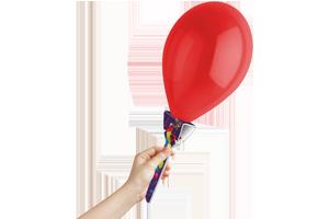 BLoony Balloon Holder - Zeigt Haltung